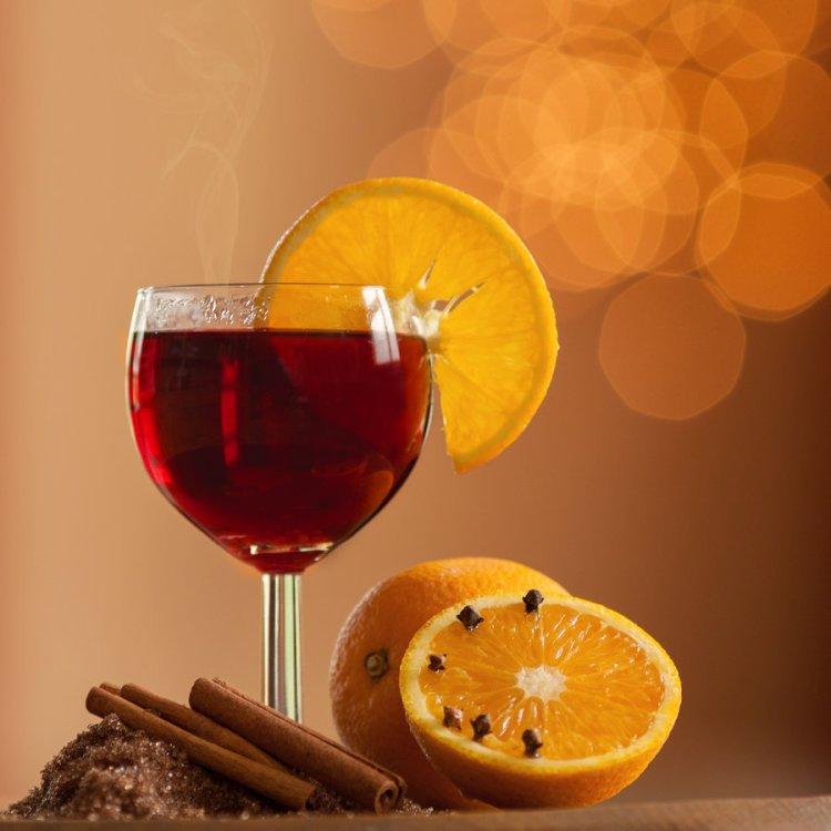 Апельсин и вино