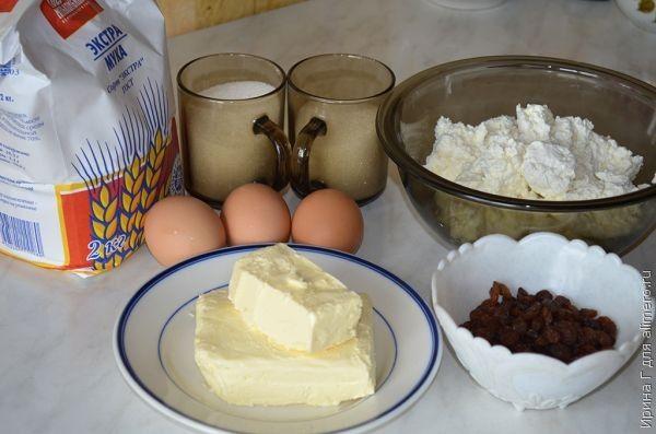 Основные продукты для приготовления запеканки