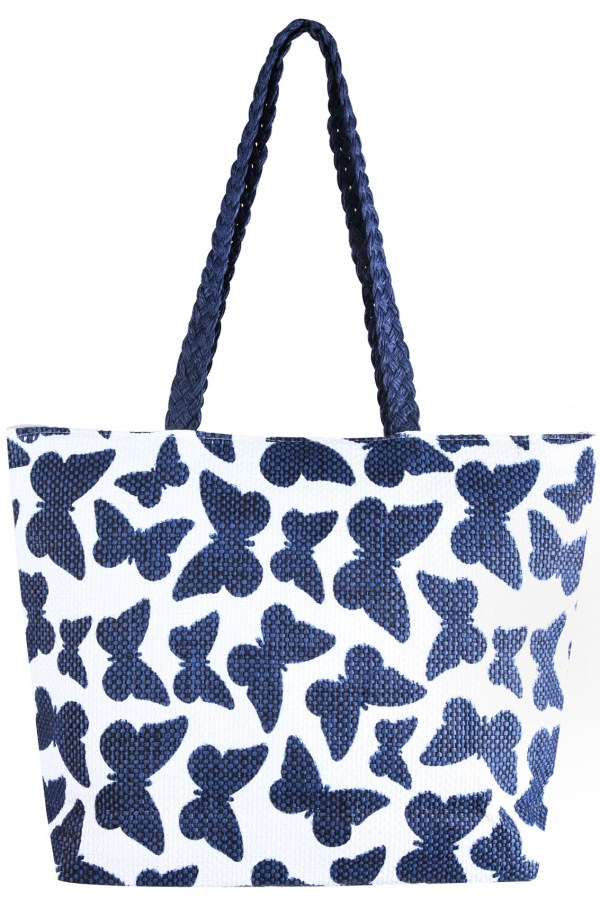 Gorgeous butterfly print bag