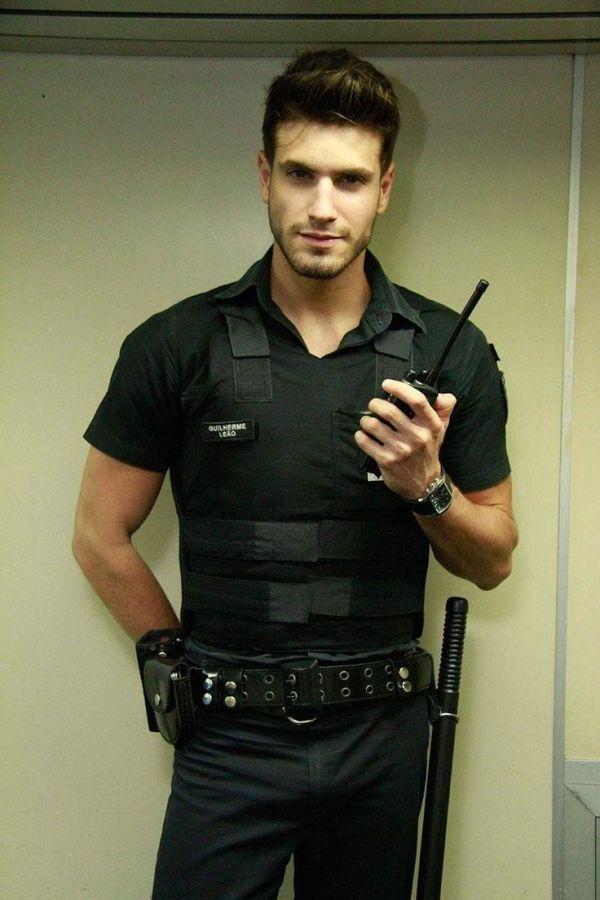 Policeman in uniform