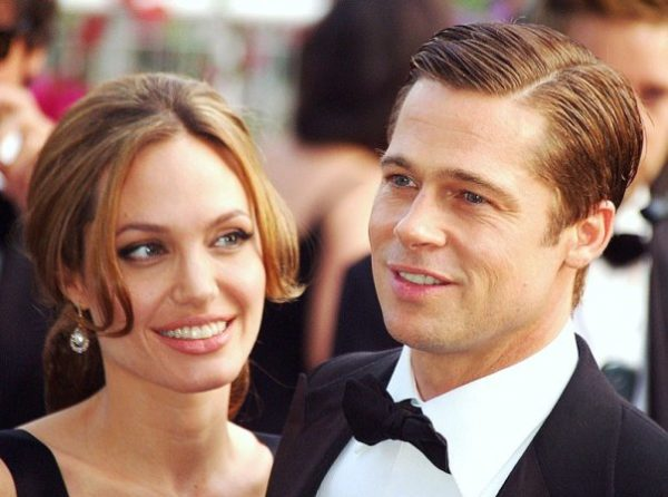Angelina Jolie with Brad Pitt at Cannes