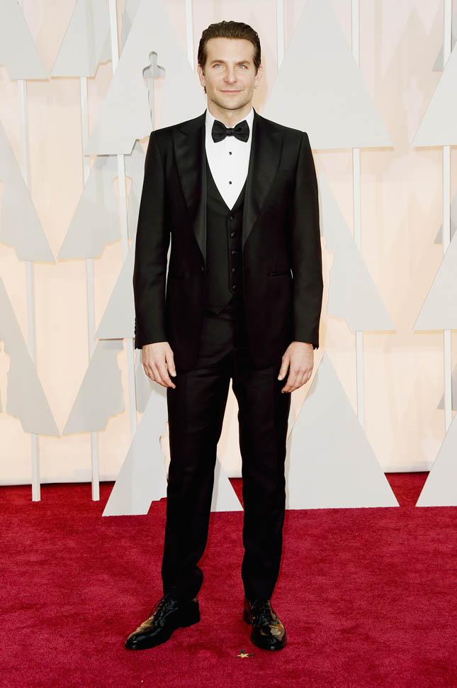 HOLLYWOOD, CA - FEBRUARY 22:  Actor Bradley Cooper attends the 87th Annual Academy Awards at Hollywood & Highland Center on February 22, 2015 in Hollywood, California.  (Photo by Jason Merritt/Getty Images)