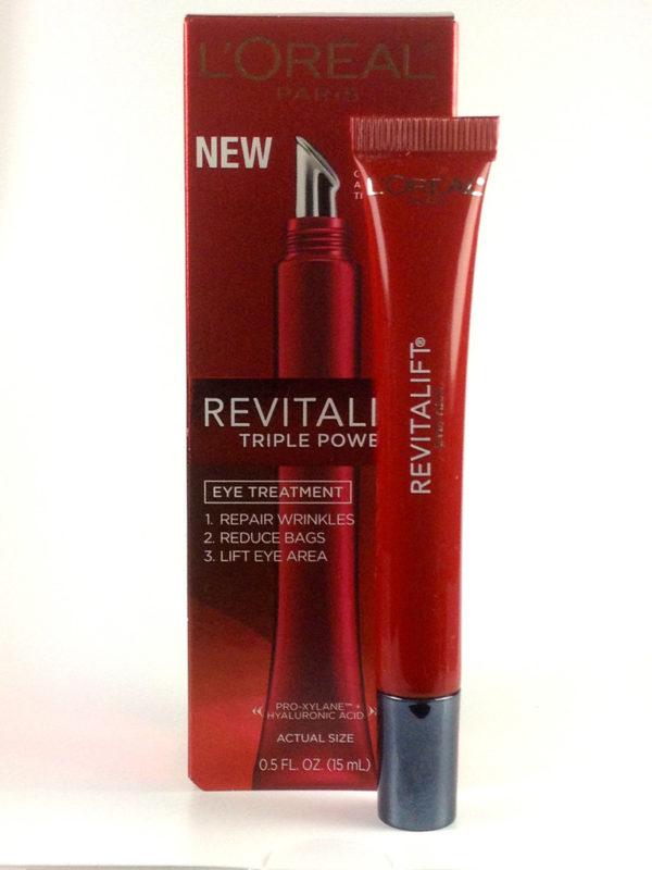 L'Oreal Revitalift eye cream