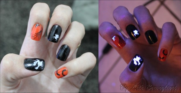 Scary Halloween nails