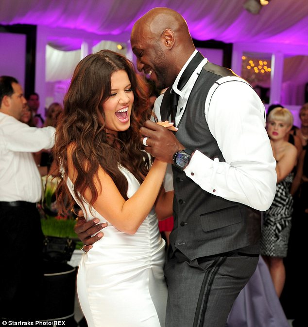 Khloe and Lamar 2