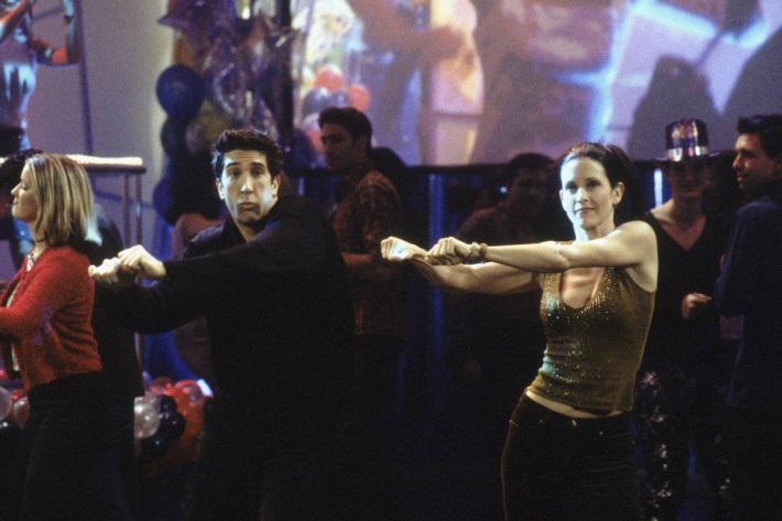 Friends episode with dancing