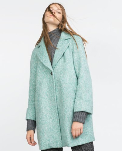 Zara Wool Coat - £69.99