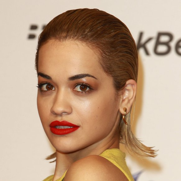 Rita Ora Wearing The Wet Look