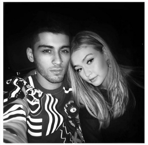 Zayne and Gigi Hadid -Image Source movienewsguide.com