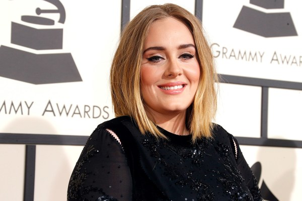 Adele at the Grammys