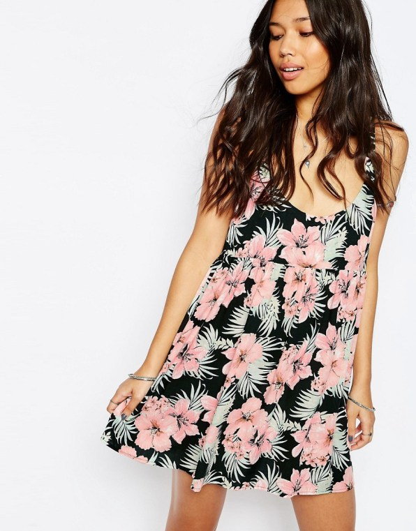 Tropical beach dress