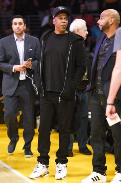 Jay Z Los Angeles Lakers Game