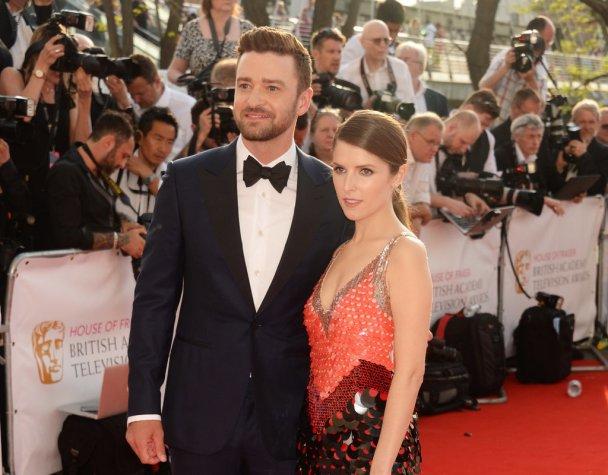 Justin Timberlake and Anna Kendrick, BAFTA's 2016