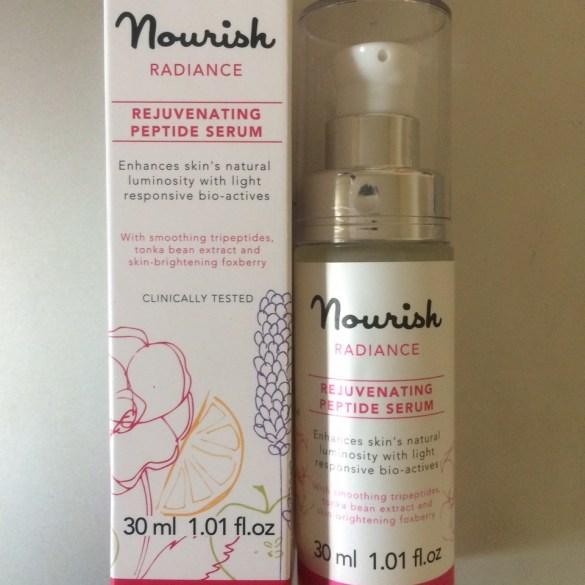 Nourish Radiance Rejuvenating Peptide Serum