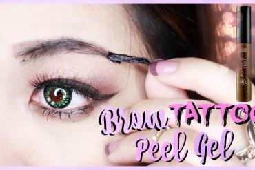 Peel off makeup - eyebrow
