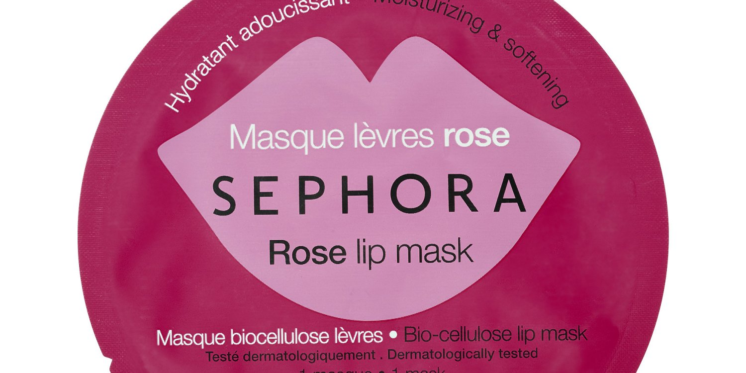 Sephora rose lip sheet mask