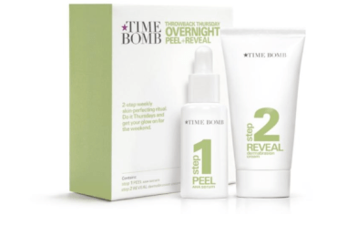 Time Bomb peel and reveal