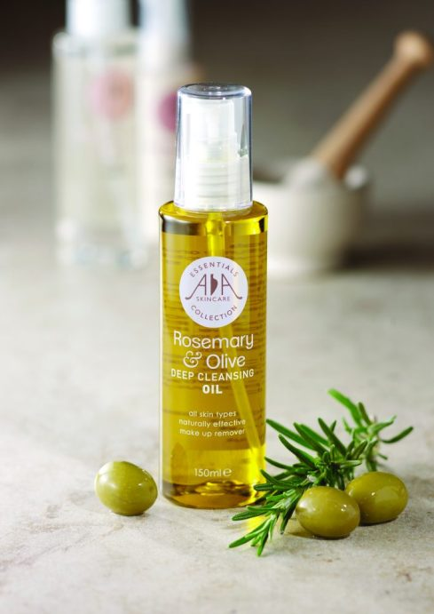 AA rosemary and olive cleansing oil
