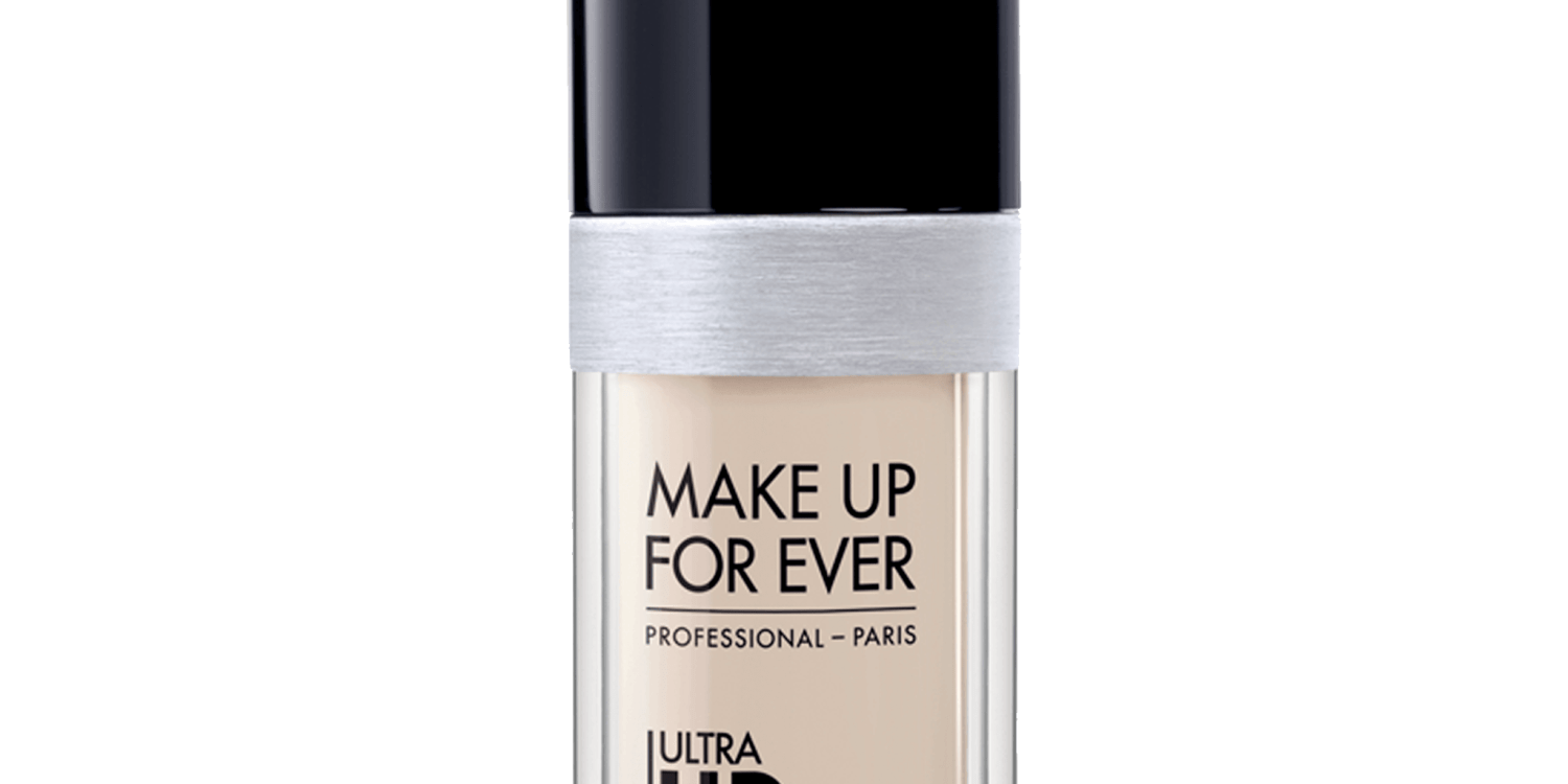Mae up for ever ultra hd foundation