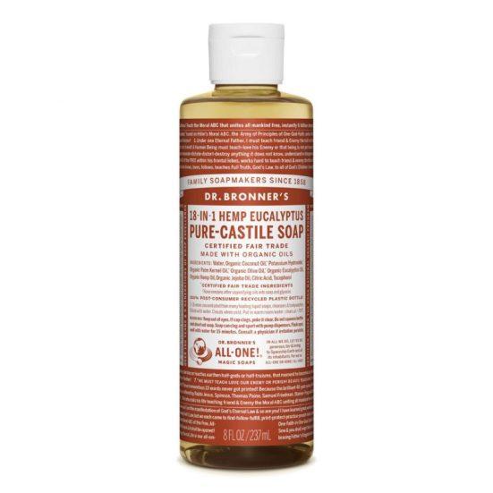 Dr bronzer eucalyptus liquid soap