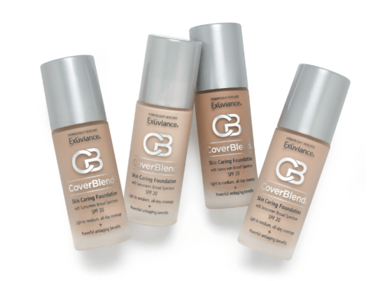 Exuviance cover blend foundation