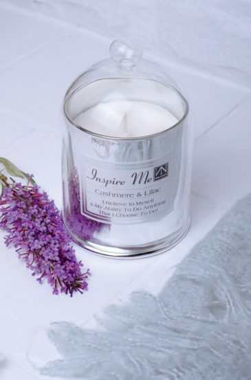 Lilac and cashmere candle