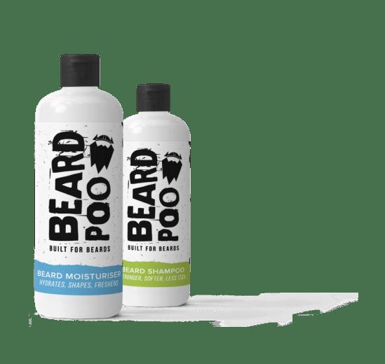 beardpoo shampoo and moisturiser