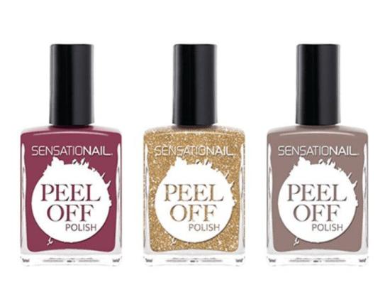 sensational peel off polish