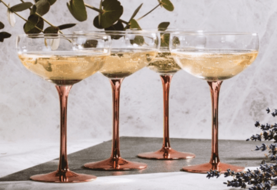 Iwoot champagne saucers