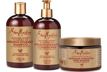 shea moisture haircare range hydration