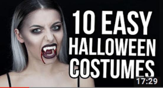 last minute Halloween Makeup