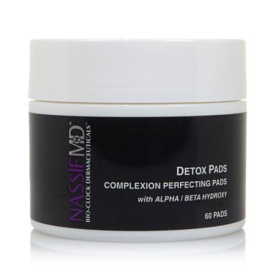massif md skincare detox pads