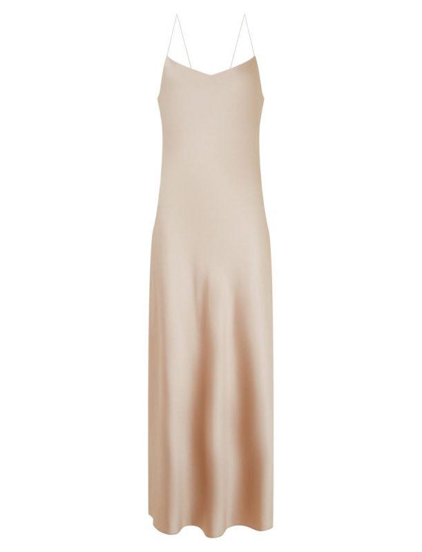 bridesmaids silk dress