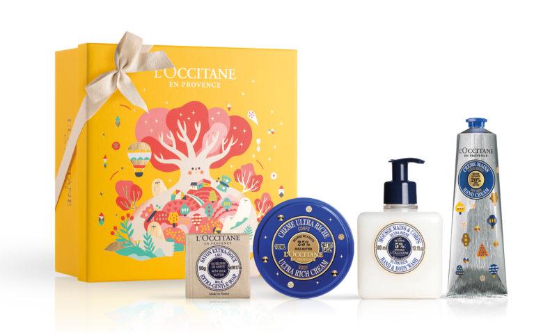loccitane shea butter xmas gift set