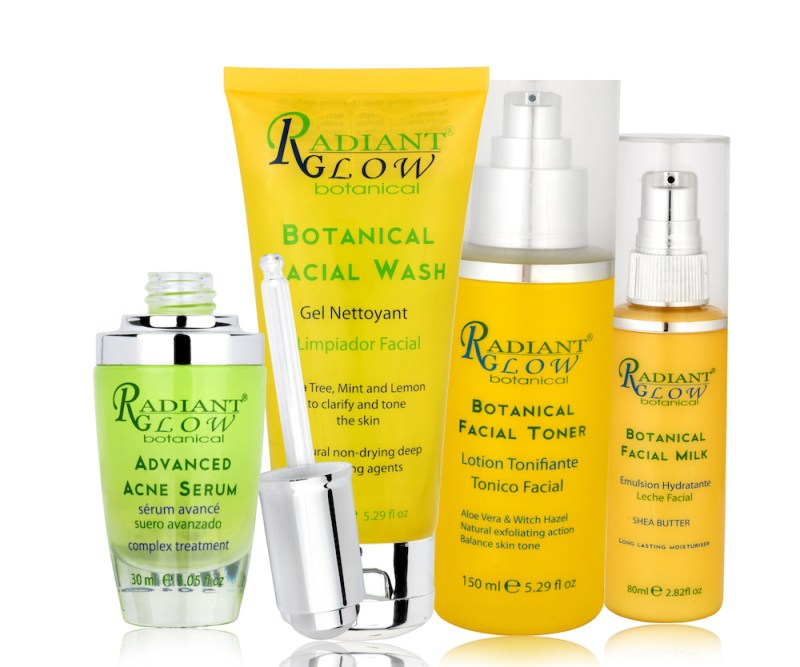 radiant glow botanical acne set blackfriday