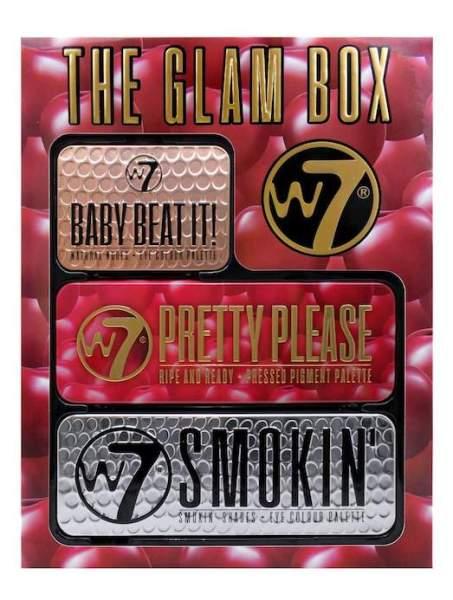 W7 Beat It Glam Box Gift Set eyeshadow