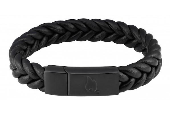 Zippo Braided Leather Bracelet, gift for him