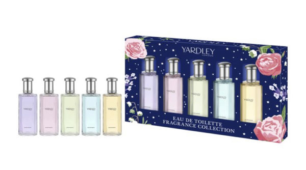 Yardley 5 x 10ml Eau de Toilette Gift Set