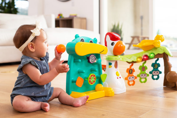 Infantino 4 in 1 Grow with me Playland toy baby gift