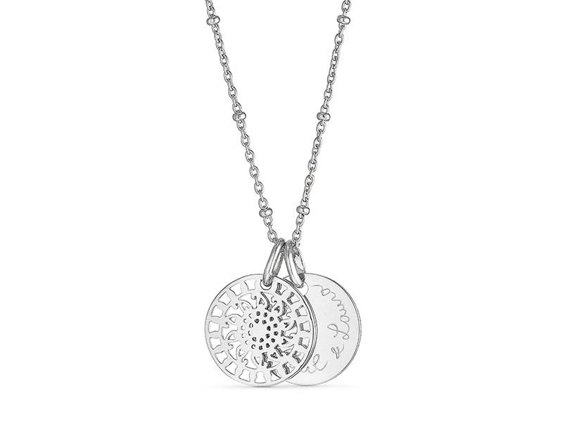 merci maman Personalised Mandala Necklace