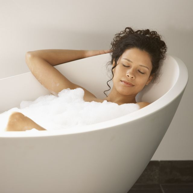 bubble bath pamper relax