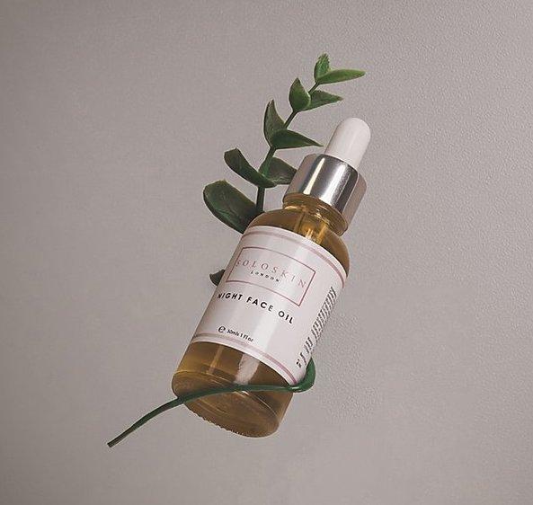solo skincare oil