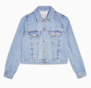 Topshop Slim Fit Denim Jacket now £32.00
