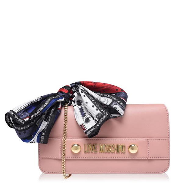 Love Moschino scarf bag