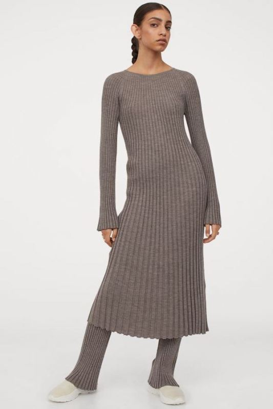HM knited dress