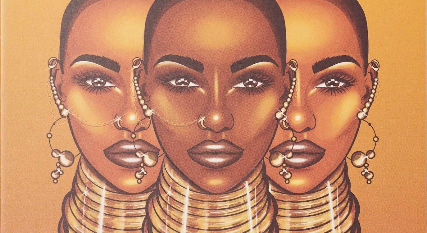 Juvia eyeshadow black women makeup