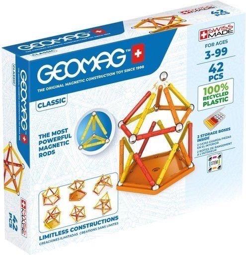 Geomag Eco Classic Colour 42pcs x frukmagazine christmas