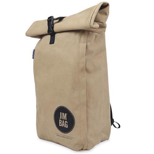 Jimbag Camel Rolltop Bag, £69.99