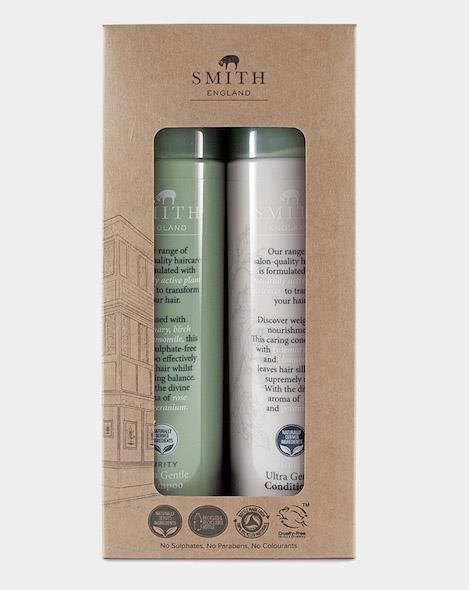 SMITH ENGLAND ULTRA GENTLE SHAMPOO & CONDITIONER GIFT SET, £16.00