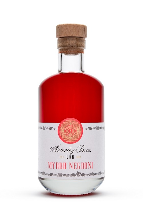 The Asterley Bros Myrrh Negroni Cocktail mix alcohol